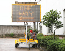 OPT VMS-400-1 Movable Led Display Signs,Traffic Signal Road VMS,Traffic Solar Led Message Board