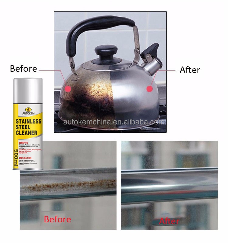 how to clean rust off stainless steel sink