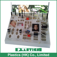 luxury and elegant acrylic cosmetic display / Table top display / Customized make up display / High quality
