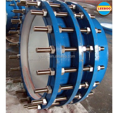 Cost-effective single flanged telescopic pipe dismantling joint