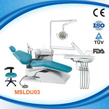 MSLDU03W-2015 Best Dental Unit Chair Automatic bowl rinsing and cup filling dental chair