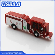 Fire truck usb memory stick wholesale usb flash drives bulk 32gb usb3.0