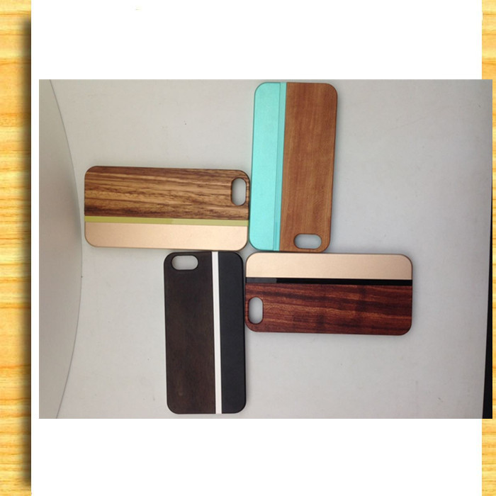 New Design Bamboo Wooden Cheap Mobile Phone Case For Iphone 5s/wood for Iphone 6 mobile case