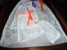Nylon Mesh Drawstring Bag For toys, Mesh Laundry Bag, Mesh Bag For Travel