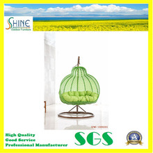 Round Egg Swing Chair Outdoor Hanging Chair for Garden
