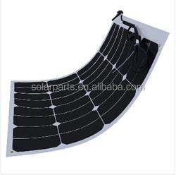 flexible thin film solar panel 50W flexible waterproof