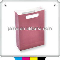 waterproof wholesale pink paper bag