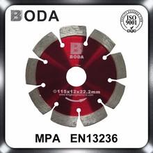 Dry Concrete Asphalt Road Cutting Diamond Disc Saw Blade For Safe Cutting Solid Segment