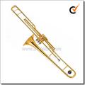 Acabado lacado Bb pistón clave trombón de pistones(TP9300)