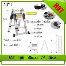 AY Sell fast folding truck step ladder rubber stool feet