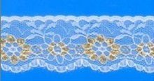 Gold lace material TX110