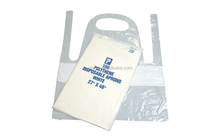 Disposable Plastic Cleaning LDPE Apron