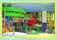 safe factoty price indoor playground kids games amusement park with alibaba credit approval
