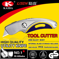 Zinc alloy Fixed Blade Trimming Utility Knife
