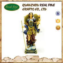 resin Uriel archangel statue
