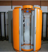 Guangzhou manufacturer offer solarium tanning booth with CE certificate
