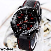 Vogue watch colorful men classic watches china silicone watch