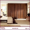 Colombia newly design led bedroom furniture set wardrobe and study table