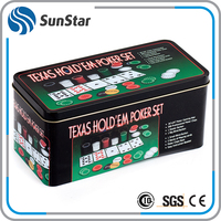 Low MOQ cheap metal/plactic poker chip set,wholesale custom used poker chips game for sale,poker playing cards china