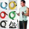11 piece resistance bands,resistance tube set,resistance band door exercie system