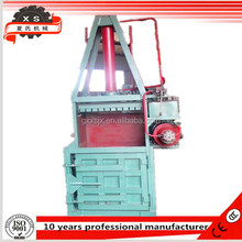 YC-10T hydraulic vertical baler press used for Herbal,mini hay baler
