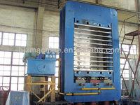 Frame type hot press vulcanizing machine