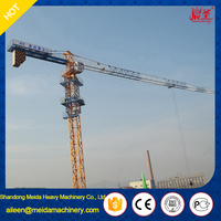 10ton PT125 6015 Flat Top Tower Crane,Topless Tower Crane for sale