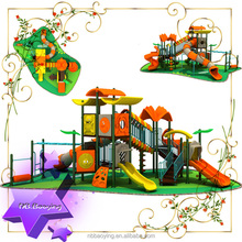 Biggest manufacturer of Outdoor and indoor hot sale Outdoor playground toys funland for children