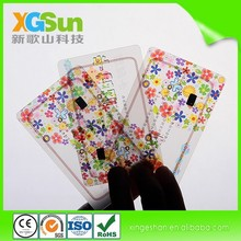 Superior crafts and High Quality Dual-sided Printing Plastic Card