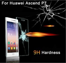 Tempered Glass Screen Protector For Huawei Ascend P7 screen protector film