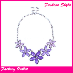 Fashion design chains artificial women necklace