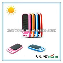 2012 best solar gift item: 1500mAh battery charger for mobile phone