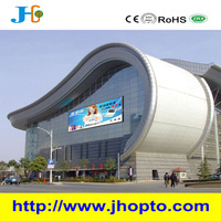 2015 newest design p31 large outdoor full color opto electronic displays, glass led video wall