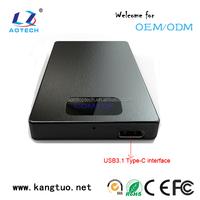 USB 3.1 HDD Enclosure 2.5 Inch HDD/SSD External Case