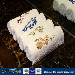 Hotel Bathroom Supplies Cotton Embroidered Hand Towel/Face Towel/Bath Towel