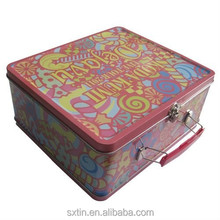 Metal Lunch tin boxes