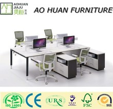 2015 Modular Workbench Office Workstation Office Partitions for 4 Person