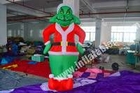 2015 best selling cheap outdoor inflatable christmas grinch for sale