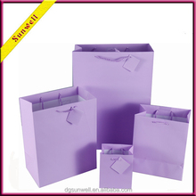 Dongguan unique design big size paper bag& cello bags shopping bag