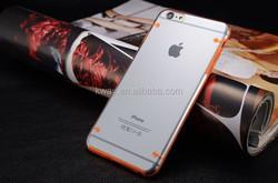 "Glitter Smart Shiny LED Flash Light Back Case For iPhone 6 Plus Luminous TPU+PC Transparent Phone Cover For iPhone 6S Plus 5.5"""