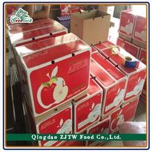 Fresh Fruit Qinguan Apple New Crop 20kg Carton