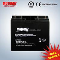 12v 18Ah VRLA AGM battery UPS Storage solar Batteries
