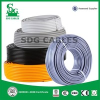 wholesale single core low voltage house wiring colored cable 400v