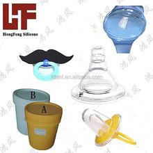 transparent liquid silicon rubber RoHS FDA LSR silicone rubber