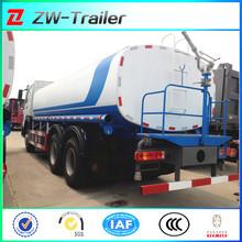 Sino truck tank vehicles water vehicle