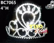 bridal wedding rhinestone crystal tiara