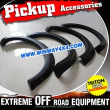 2015 TRITON L200 ABS BLACK FENDER FLARE