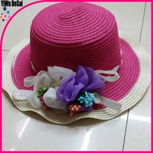 Custom Women Floppy Hat Wide Large Brim Foldable Sombrero Girl Summer Beach Sun Straw Hat Wholesale