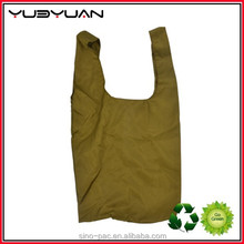 2015 Eco Tote Promotional Reusable Supermarket Using Cheap Polyester Foldable Shopping Bag