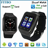 3G MTK6572 Camera Wifi Interent android wrist watch for Apple/HTC One